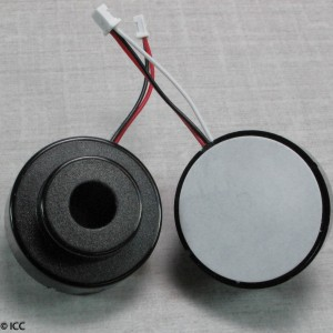SELF DRIVE PIEZO ELECTRIC BUZZER W/WIRES AND MOLEX CONNECTOR