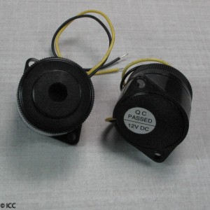 PIEZO ELECTRIC ALARM WITH INTERNAL CIRCUITRY