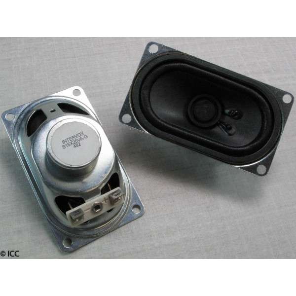 SHIELDED LOW LEAKAGE OVAL SPEAKER