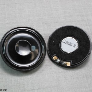 MICRO-MINIATURE LOW PROFILE ROUND SPEAKER