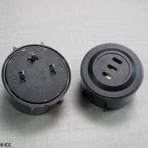 PIEZO ELECTRIC ALARM WITH INTERNAL CIRCUITRY