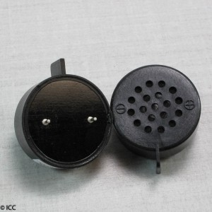 PC MOUNT 1 WATT ROUND SPEAKER