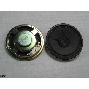 SUB-MINIATURE LOW PROFILE ROUND SPEAKER