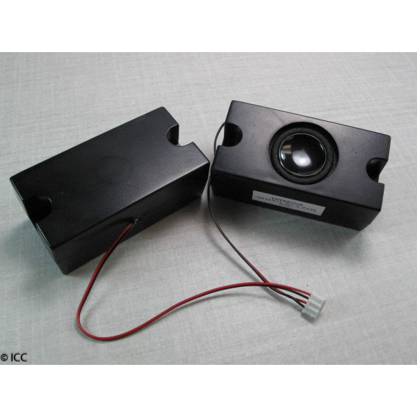 SPEAKER BOX PAIRS WITH WIRE CABLE ASSEMBLY
